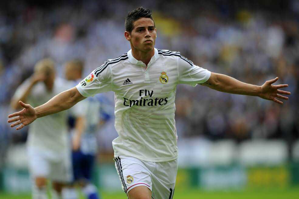 James Rodríguez regresaría al Real Madrid, según la prensa española