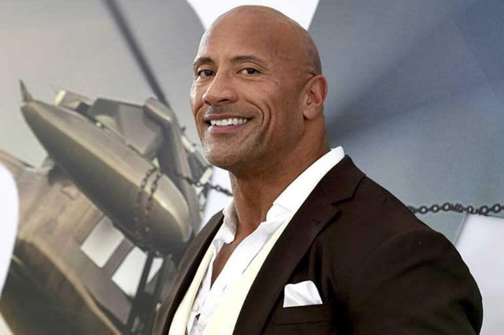 Dwayne «La Roca» Johnson es el actor mejor pago, según Forbes. Aquí, el top 10