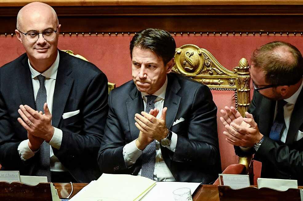 El Senado italiano respalda el nuevo gobierno de Conte