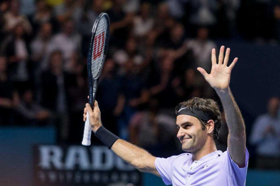 Federer jugará un partido amistoso con Zverev en Bogotá