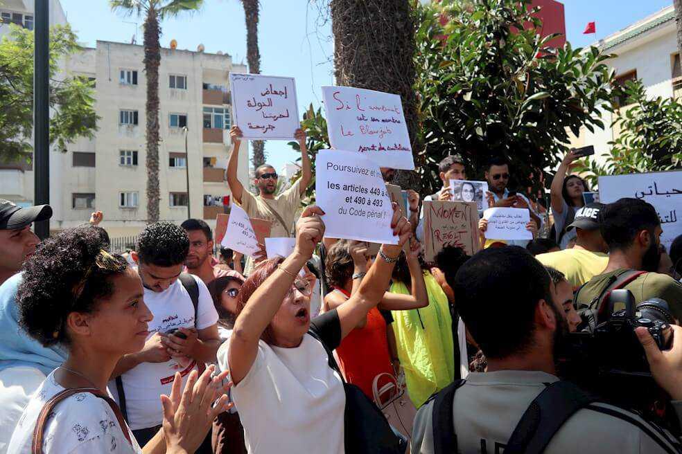 Juez rechaza libertad provisional a periodista marroquí acusada de aborto
