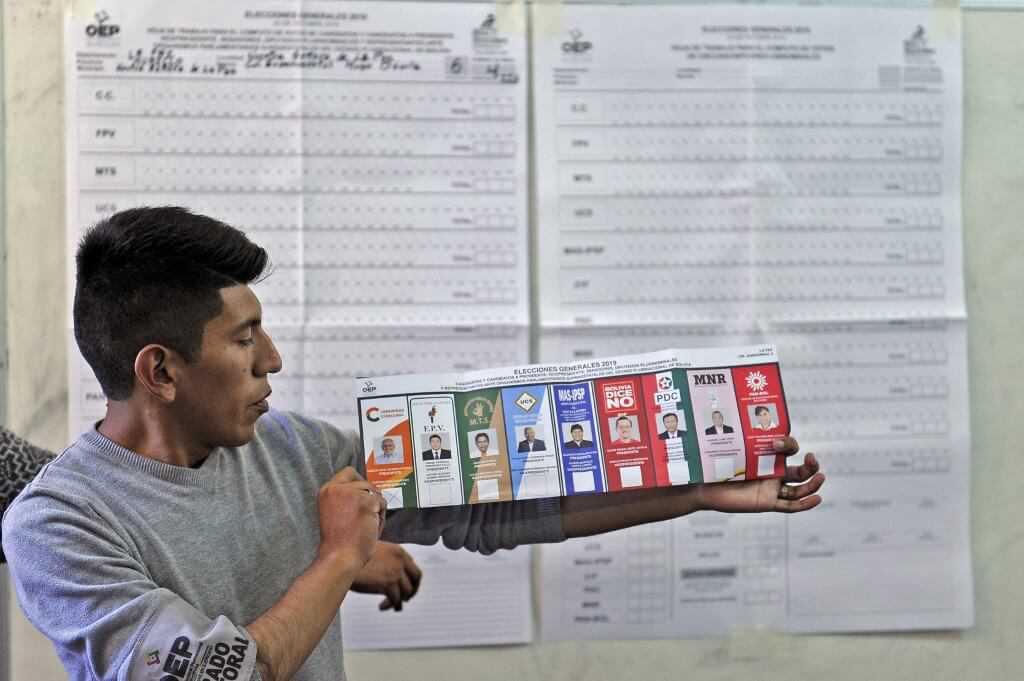 Bolivia propone a OEA auditar «una a una las actas» de las elecciones