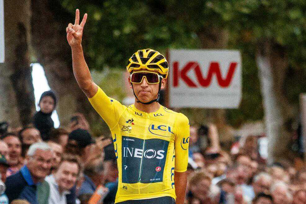 Egan Bernal, candidato a ganar la Bicicleta de Oro