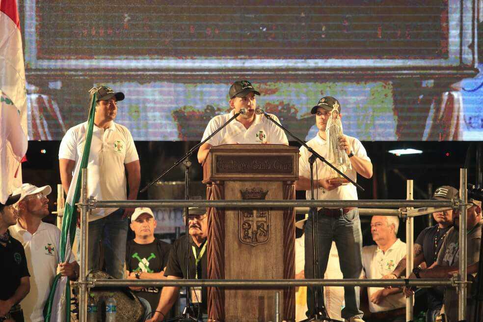 Luis Fernando Camacho, el líder opositor que quiere poner en jaque a Evo Morales