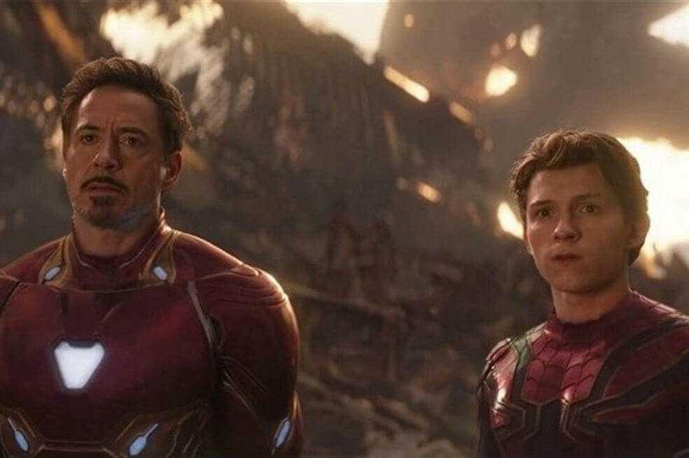 Así sería Peter Parker como Iron Man