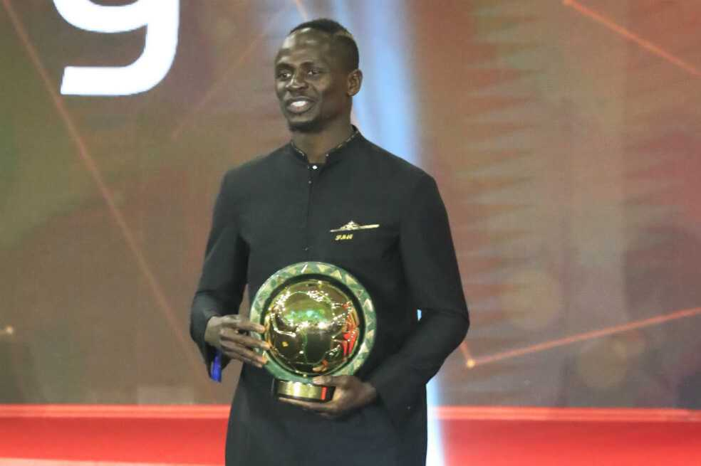 Sadio Mané fue elegido como el mejor jugador africano del año