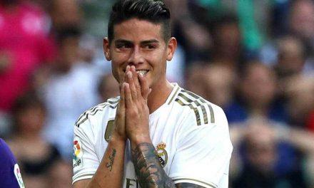 Contra todo pronóstico, James entró en la convocatoria del Real Madrid