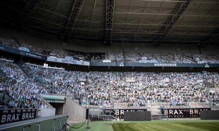 Con aficionados de cartón planean llenar el estadio del Gladbach
