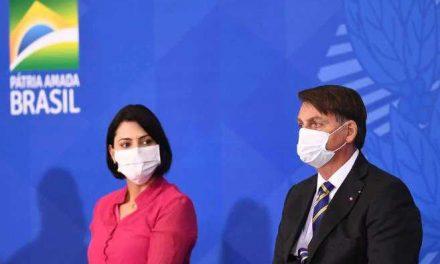 Primera dama de Brasil y otro ministro de Bolsonaro dan positivo por COVID-19