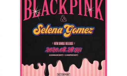Selena Gomez confirma colaboración con Blackpink