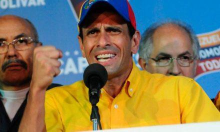 Capriles da un golpe sobre la mesa y pone en jaque el liderazgo de Guaidó