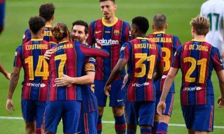 Barcelona, en medio de un ambiente agitado, comienza su camino en LaLiga