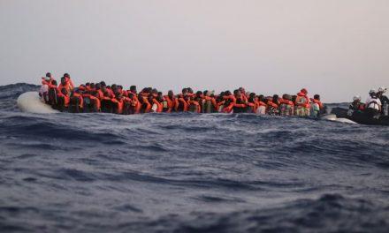 La desgracia de cientos de migrantes rescatados en el Mediterráneo