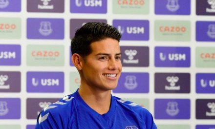 """James Rodríguez: """"Everton es un club con mucha historia"""""""