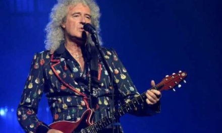 "Brian May toca ""I'm a Woman"" para apoyar lucha contra el cáncer de mama"