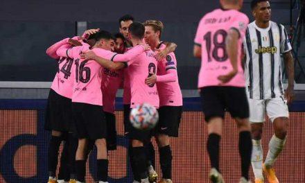 Barcelona venció a la Juventus, que contó con Juan G. Cuadrado