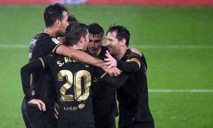 El Barcelona sigue por buen camino, venció 3-0 al Celta