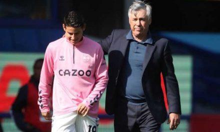 """""""James está en buenas condiciones"""": Carlo Ancelotti"""