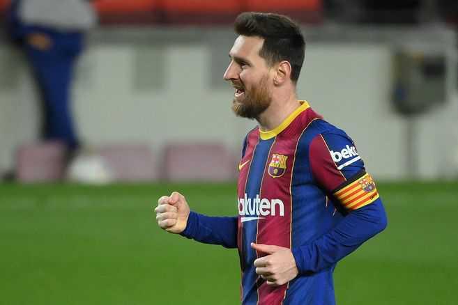 Messi brilló en un nuevo día histórico para él