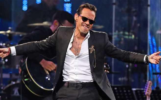 Marc Anthony canceló su concierto virtual debido a una falla técnica