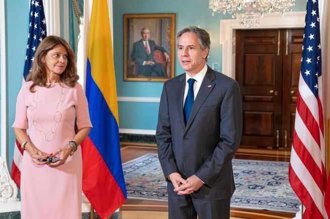 Marta Lucía Ramírez se reunió con el secretario de Estado de EE. UU. en Washington, ¿qué dijeron?