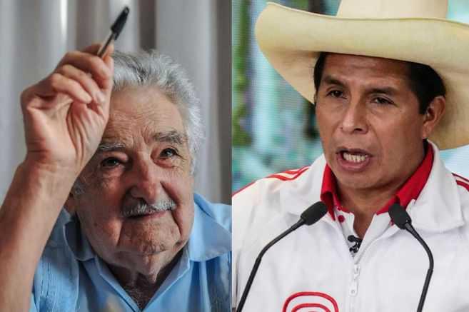Pedro Castillo recibe el respaldo de Pepe Mujica a tres días de las elecciones en Perú