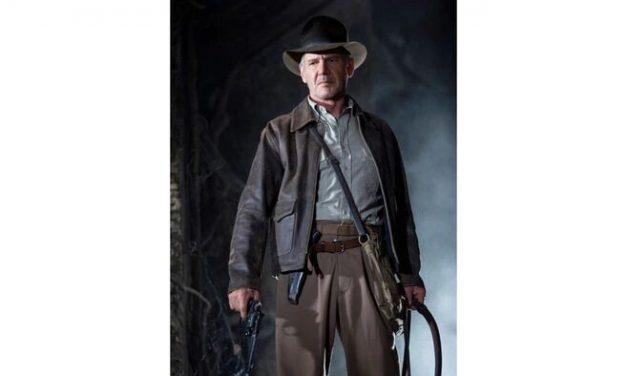 "Harrison Ford llegó a Reino Unido para rodar ""Indiana Jones 5"""