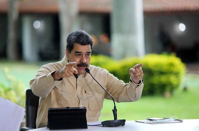 """""""¡Miserables!"""": Maduro critica a EE. UU. por excluir a Venezuela de donación de vacunas"""