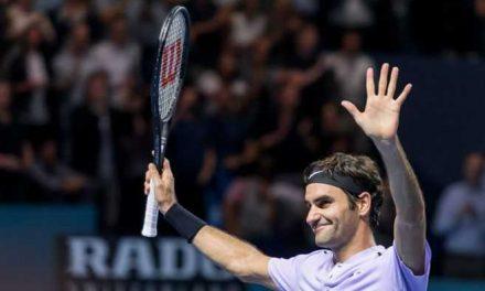 Subasta con objetos de Roger Federer recaudó más de cuatro millones de dólares
